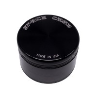 MEDIUM - BLACK TITANIUM - 3 PIECE SPACE CASE GRINDER