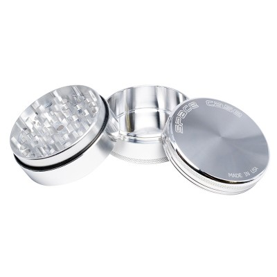 MEDIUM - POLISHED - 3 PIECE SPACE CASE GRINDER