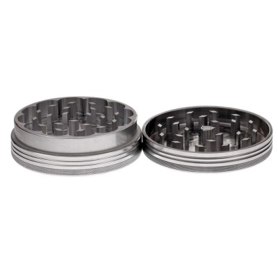 LARGE - POLISHED - 2 PIECE SPACE CASE GRINDER