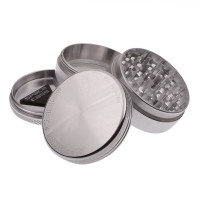 MEDIUM - POLISHED - 4 PIECE SPACE CASE GRINDER