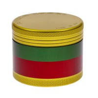 SMALL - RASTA - 4 PIECE SPACE CASE GRINDER