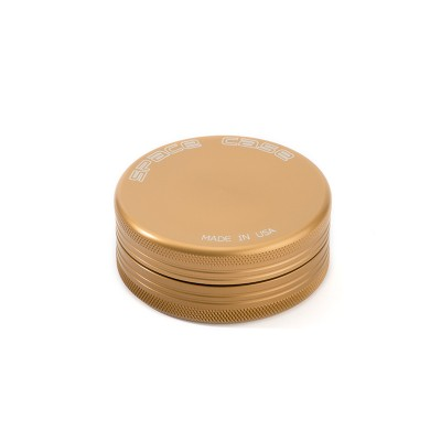 SMALL - GOLD - 2 PIECE SPACE CASE GRINDER