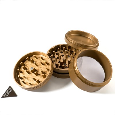 LARGE - GOLD MIX - 4 PIECE SPACE CASE GRINDER