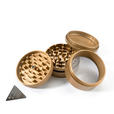 MEDIUM - GOLD MIX - 4 PIECE SPACE CASE GRINDER