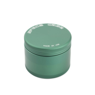 MEDIUM - GREEN MIX - 4 PIECE SPACE CASE GRINDER