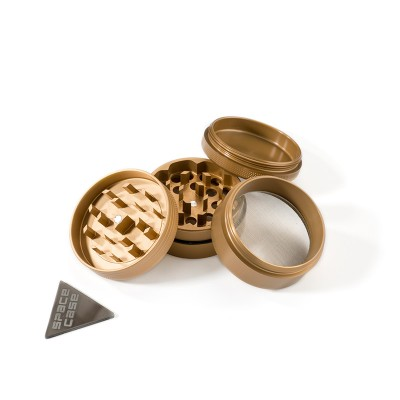 SMALL - GOLD MIX - 4 PIECE SPACE CASE GRINDER
