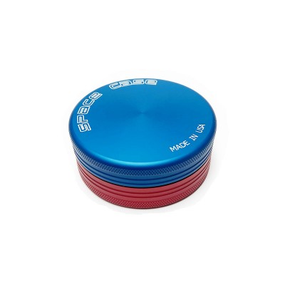 SMALL - BLUE RED MIX - 2 PIECE SPACE CASE GRINDER