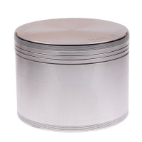 LARGE - POLISHED - 4 PIECE SPACE CASE GRINDER