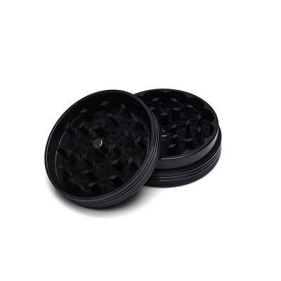 MEDIUM - BLACK TITANIUM - 2 PIECE SPACE CASE GRINDER