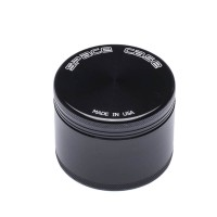 MEDIUM - BLACK TITANIUM - 4 PIECE SPACE CASE GRINDER